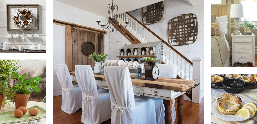 Farmhouse Style welcomes visitors